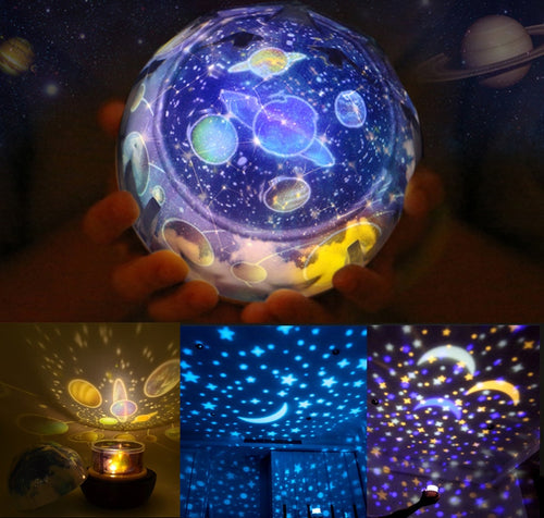 Magic Rotating Universe Lamp/Baby Sleeping Toy