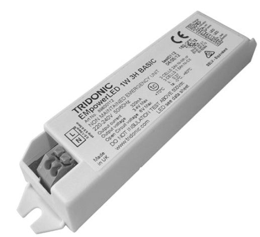Tridonic - 89800112 - EM powerLED NM 1W BASIC - LED Spares