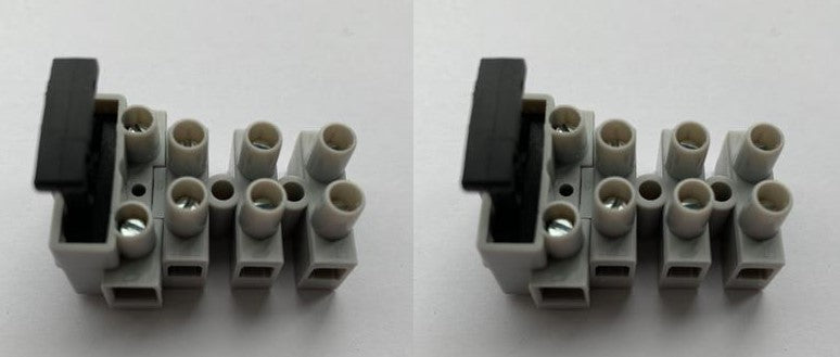 FTB4 - 4 Pole Fused Terminal Block