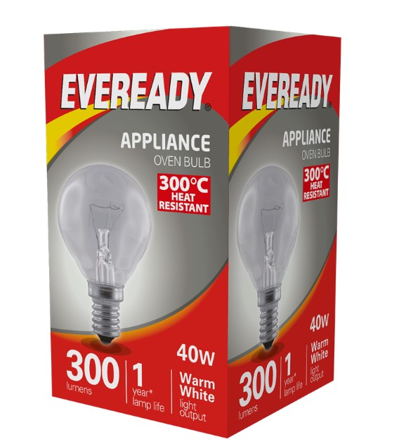 S1024 - Eveready Oven Lamp SES 40W - LED Spares