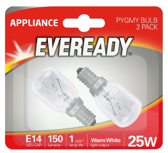 Eveready Pygmy 15W E14 Himalayan Salt Lamp - LED Spares