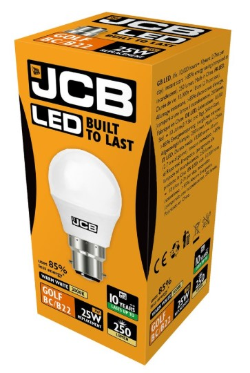 S10967 JCB LED GOLF BALL BULB - LED Spares