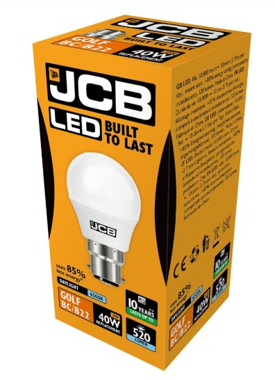 S10970 JCB LED GOLF BALL BULB - LED Spares