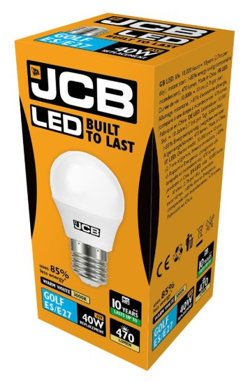 S10973 JCB LED GOLF BALL BULB - LED Spares