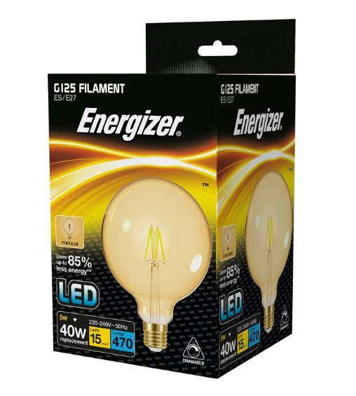 S15029 Energizer G125 E27 Dimmable - LED Spares