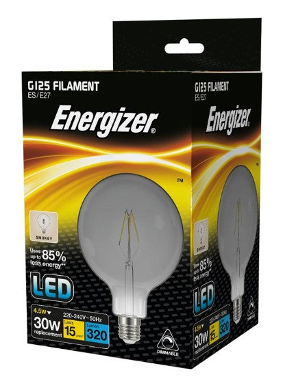 S15033 Energizer G125 E27 Dimmable - LED Spares