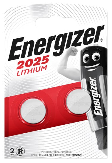 Energizer CR2025 Lithium Coin Cell Batteries -LED Spares