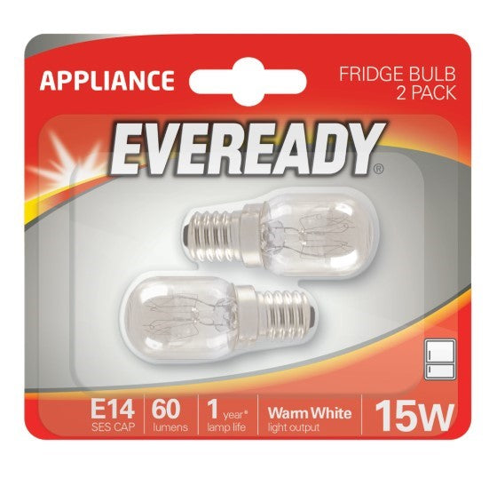 S875 Eveready Fridge Appliance Bulb 15W (E14) Pygmy