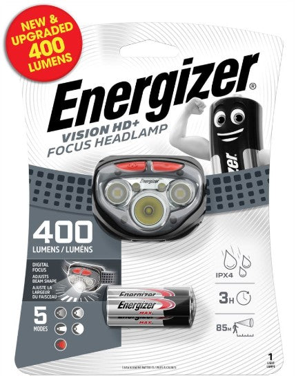 S9180 Energizer Vision Head Torch - LED Spares