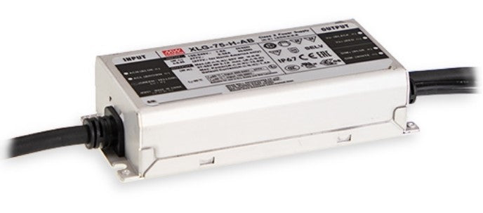 Mean Well XLG-75-H-A 75W Constant Current LED Driver - LED Spares
