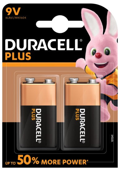 Duracell 9V Plus Power - LED Spares