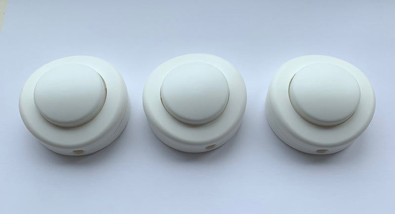 Single Pole In-Line Foot Switches for Standard Lamps