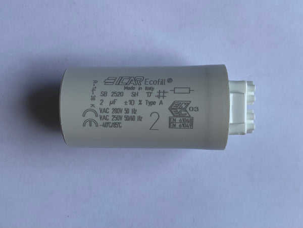 CAP202 2uF 250V Lighting Capacitor - LED Spares