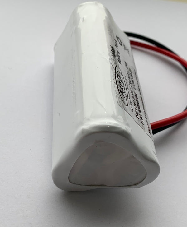 3.6V 4AH NiMH Triangle Battery C/W Flying Leads - LED Spares