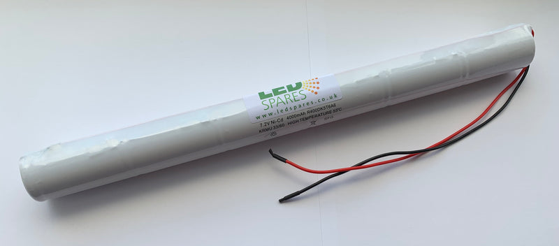BST6D-55 7.2V 4AH NICD STICK BATTERY - LED Spares