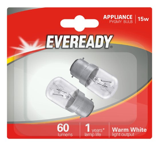 Eveready Pygmy Bulbs - Sign Lamps 15W B22 BC -LED Spares