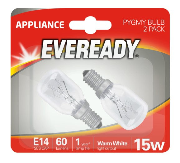 Eveready Pygmy 15W E14 SES Himalayan Salt Lamp - LED Spares