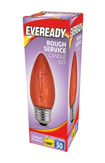 S11905 - Eveready Fireglow 25W E27 - LED Spares