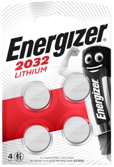 Energizer CR2032 Lithium Coin Cell Batteries - LED Spares