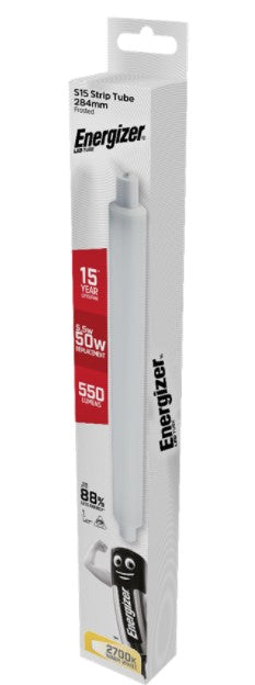 Energizer 5.5w 284mm LED Striplight - Strip Tube 2700K - S9218 - LED Spares