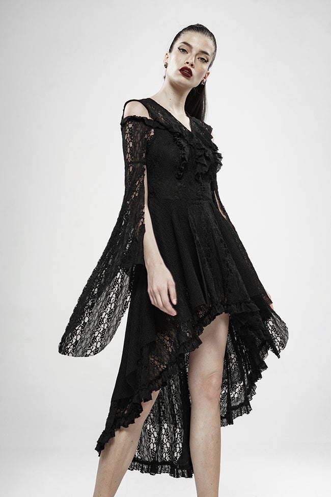Wilderness Witch Lace Irregular Dress