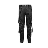 New Style Elastic Punk Pants For Men