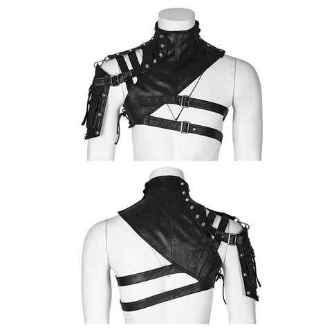 Punk Accessories Soldier Close-fitting Male Shoulder Armor