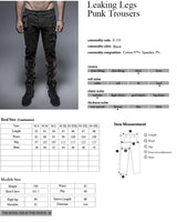 Original Design Leisure Cowboy Punk Pants For Men