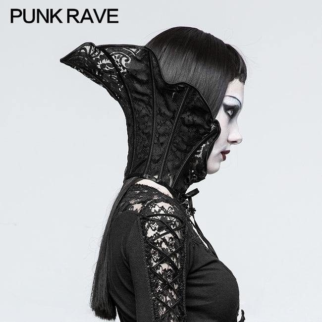 Women Gorgeous Gothic Accessories Lace Queen Collars
