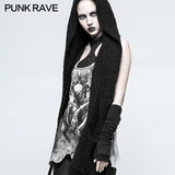 One Piece Mosaic Fashion Gothic Accessories Soft Knitting Hemming Stitching Glove