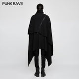 Irregular Gothic Style Loose Punk Sweaters Simple Pullover Joker Style