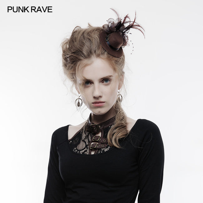 Punk Accessories Steampunk Lower Mini Style Hat