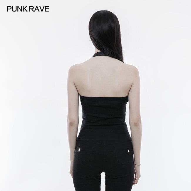 Sexy Personality Punk Vest For Women