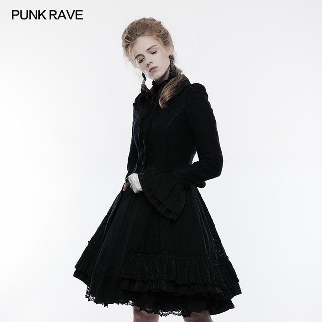 Lolita Lace Overcoat Gothic Coat For Women