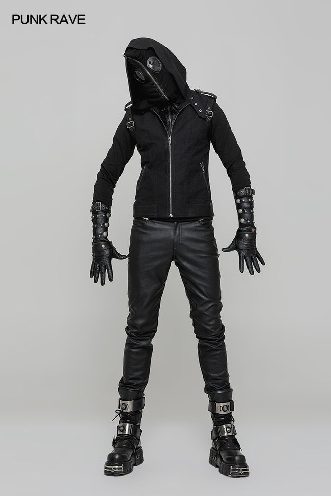 Super Cool Pullover Mask Punk Hoodies For Men