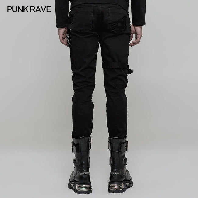 Personality Vintage Trousers Punk Pants For Men & Women
