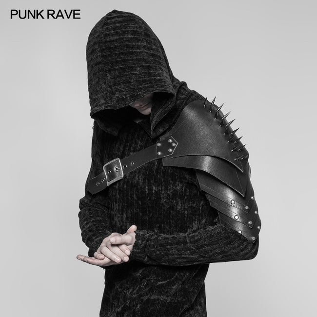 Powerful Punk Accessories Cone Nail Leather Armor