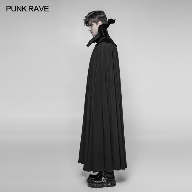 Gothic Vampire Count Nightcrawler Long Cloak