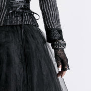 Lolita Style Black Lace Gloves Accessories