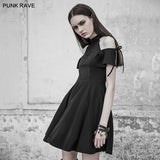 Gothic Astrology Series Moon Magic Halter Neck Dress