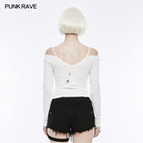 T Tie The Rope Strapless Long Sleeve Bottoming Shirts
