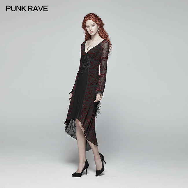 Gothic Goddess Classical Mid-length Dress
