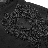 Gorgeous Gothic Lace Shirt Long Sleeve Vintage Blouse