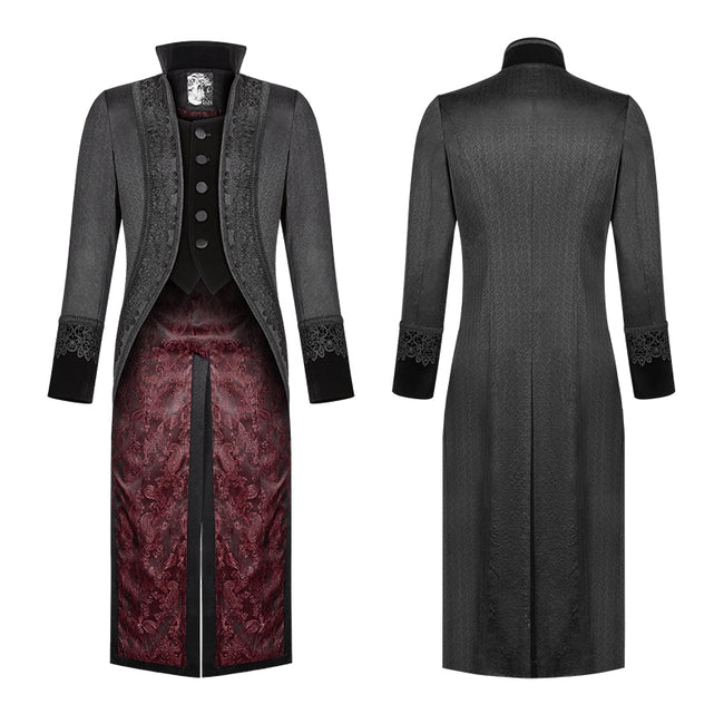 Gorgeous Gothic Swallow Tail Coat