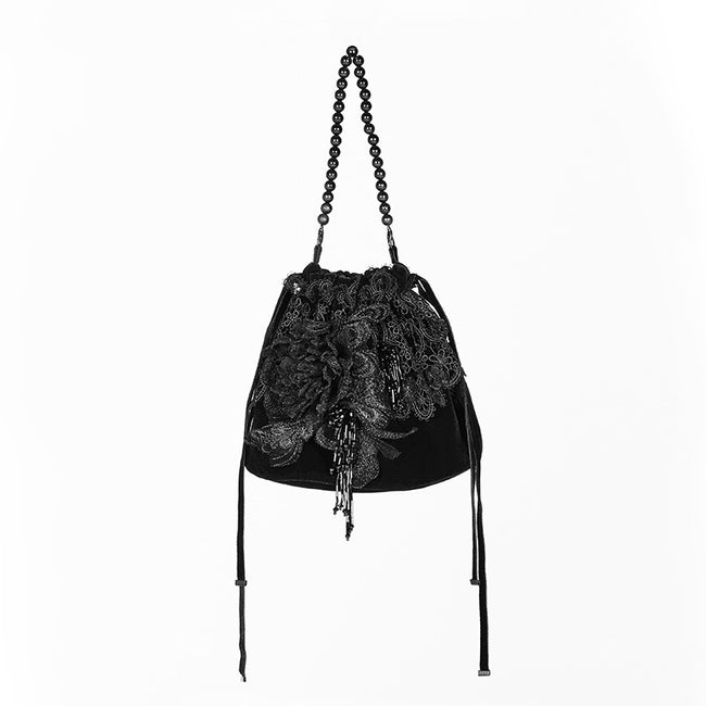 Gorgeous Gothic Small Tote Bucket Bag