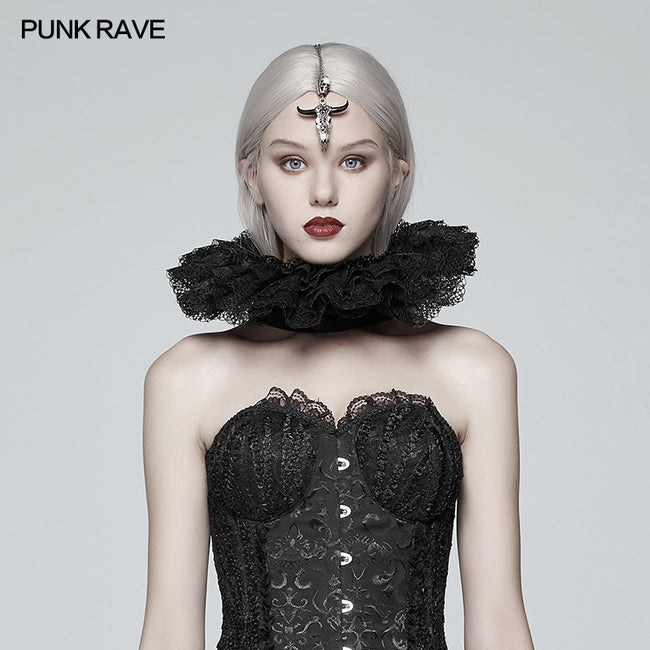 Victoria Ruffle Lace Decoration Collar
