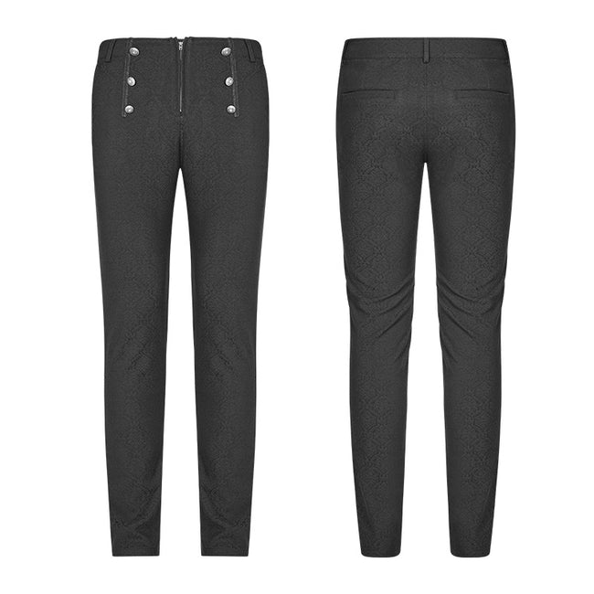 Men Gothic Daily Trousers