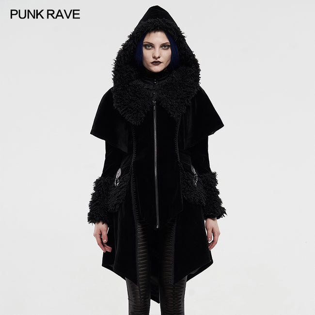 Gothic fake two cloaks