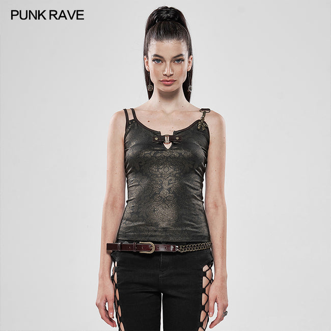 Steampunk sexy seductive tank top