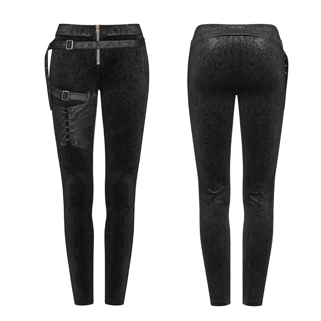 Steam Punk Leggings Women Personalized Pants